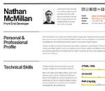 Bold - CV / Resume Template - Minimal &amp; Smart