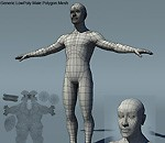 Generic Male Low Poly BaseMesh