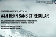 A&H Bern Sans CT Regular
