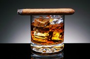 Cigar on Drink