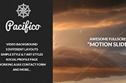 Pacifico - Fullscreen template with Motion Slider