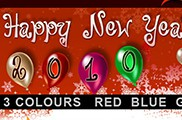 Happy New Year - 3 COLORs