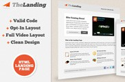 TheLanding Landing Page