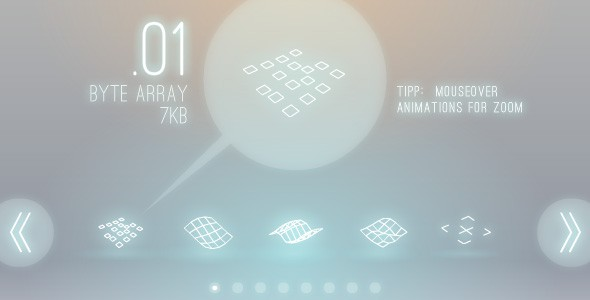40 Hi-Tech 3D-Animations Pack