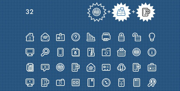 560 Essential Web Design Icons