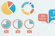Paquete de elementos para crear infografías