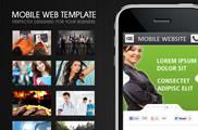 Plantilla HTML para Web Móvil: Mobile Web Template