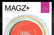 Template de Maagazine para tablet