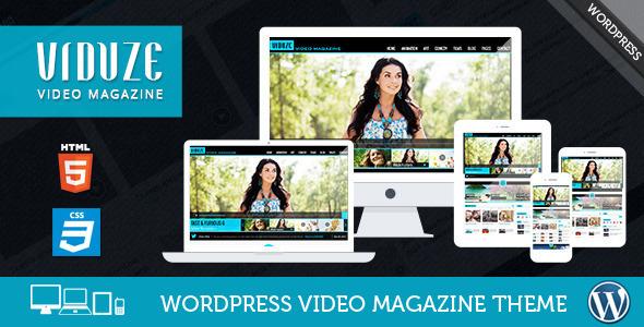 Viduze - Video WordPress Theme by CrunchPress | ThemeForest