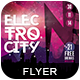 Electro City Flyer 3-Graphicriver中文最全的素材分享平台