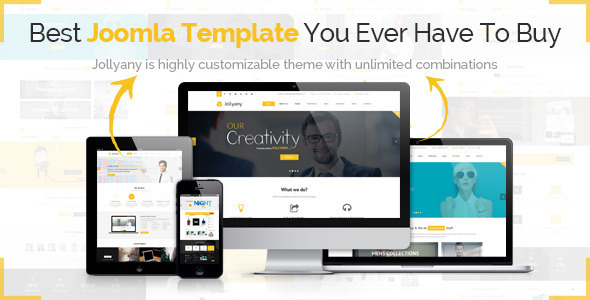 Jollyany - Responsive Multipurpose Joomla Template by
