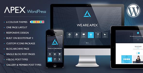 Apex - Responsive WordPress Theme by meta4creations   ThemeForest