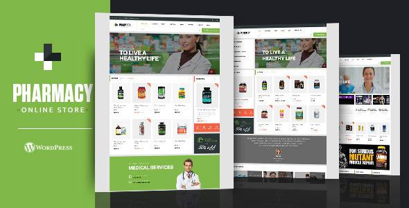 Pharmacy WooCommerce WordPress Responsive Theme by Opal_WP | ThemeForest