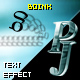 PJ Boink - text effect component