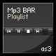 Mp3 BAR with playlist