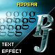 PJ Appear - text effect component