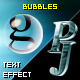 PJ Bubbles - text effect component