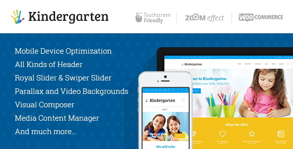 Kindergarten | Children WordPress Theme by ThemeREX | ThemeForest