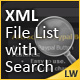 XML File List with Search  - FlashDen Item for Sale