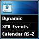 Dynamic XML Events Calendar