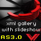 Dynamic xml image gallery with auto slideshow