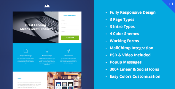 Revenue - Startup Landing Page by multifour | ThemeForest