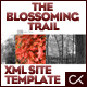 The Blossoming Trail XML Site Template