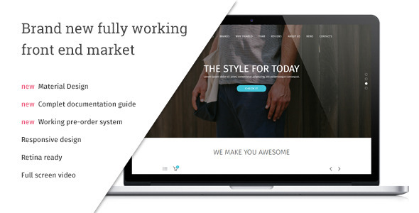 Triablo - eCommerce Landing Page by vsart | ThemeForest