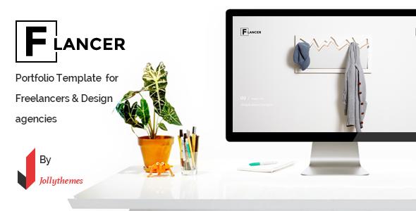 Flancer portfolio template for freelancers agencies by jollythemes flancer portfolio template for freelancers agencies portfolio creative maxwellsz