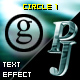 PJ Circle 1 - text effect component