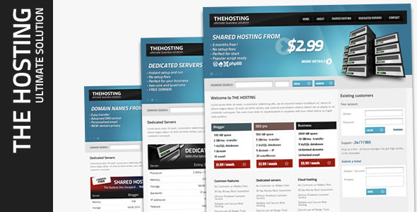 ThemeForest The Hosting - RIP