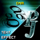 PJ DNA - text effect component
