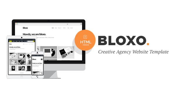 Bloxo minimal freelancer agency html5 template by jollythemes bloxo minimal freelancer agency html5 template portfolio creative maxwellsz