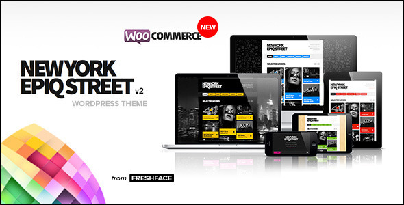 New York Epiq Street - Creative WordPress Theme by FRESHFACE ...