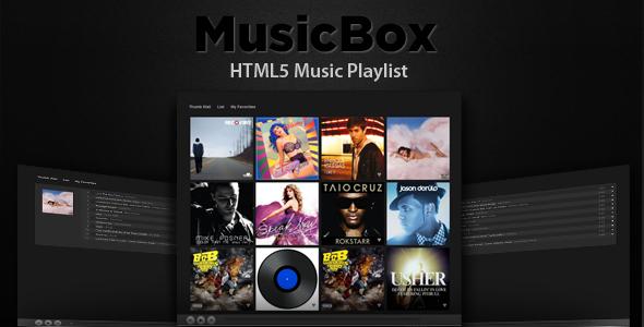 MusicBox - HTML5 Music Player