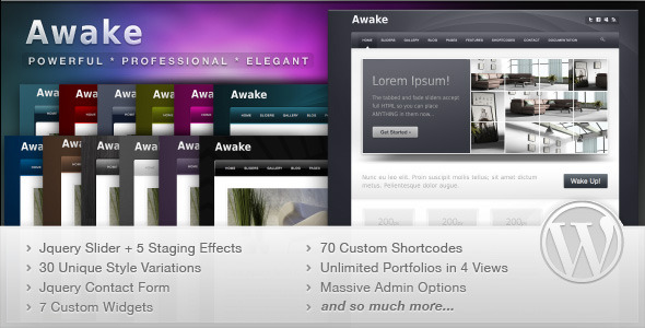 Awake WordPress Theme