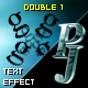 PJ Double 1 - text effect component
