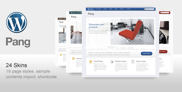 Pang - Business and Corporate WordPress Theme