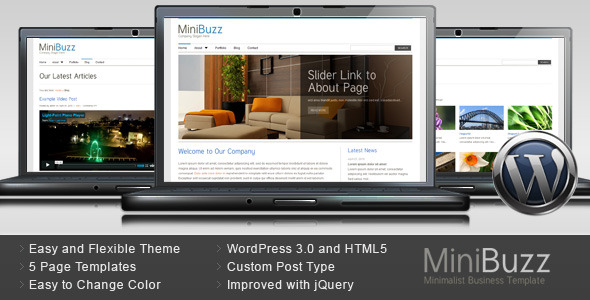 Minibuzz WordPress Theme