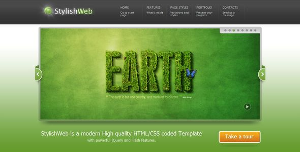 Stylishweb WordPress Theme