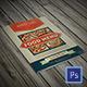 Bifold Retro Menu-Graphicriver中文最全的素材分享平台
