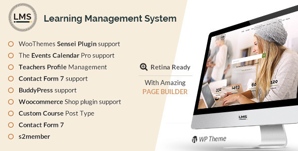 LMS   Learning Management System, Education LMS WordPress Theme by ...