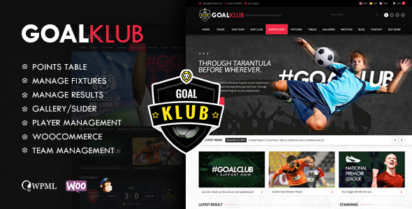 Goal Club | Sports & Events WordPress Theme by Chimpstudio ...