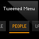 dynamic tweened menu (as3, xml) - FlashDen Item for Sale