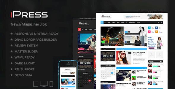 iPress - Blog/Magzine/News Wordpress Theme by HighThemes   ThemeForest