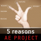 5 reasons - Logo Intro
