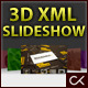 3D XML Slideshow/Gallery/Banner Image Viewer