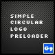 Simple Circular Logo Preloader