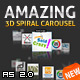 Amazing 3D Spiral Carousel AS2