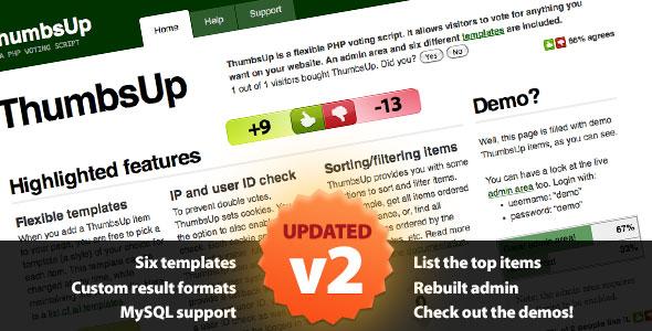 CodeCanyon ThumbsUp V2